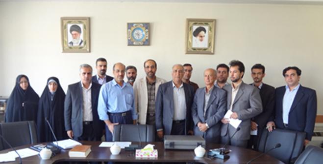 تشکیل نخستین نشست داخلی کمیته مشاوران شاخه کارمندان واحد خوراسگان ( اصفهان )