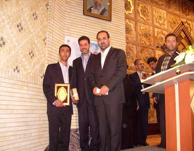 در جشنواره تخصصی حضرت علی اکبر(ع) صورت گرفت؛ انتخاب عضو باشگاه پژوهشگران جوان واحد خوراسگان(اصفهان) بعنوان جوان برتر علم و فناوری کشور